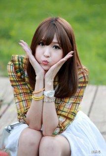 可爱的韩国美少女李恩慧
