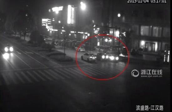 杭州多辆豪车街头飙车 4人涉危险驾驶被拘(图)