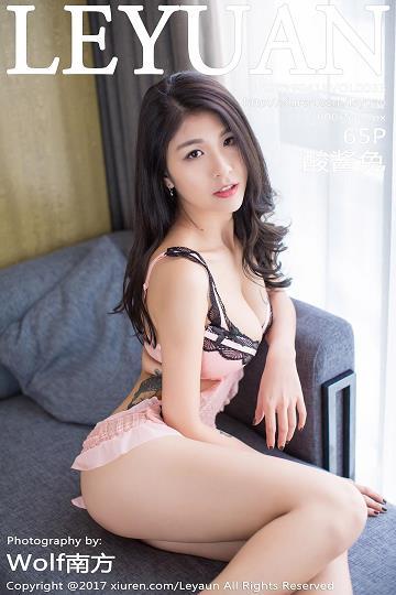 [LeYuan星乐园]LY20170418VOL0033 酸酱兔 粉色性感内衣与黑色情趣兔女郎制服加黑色丝