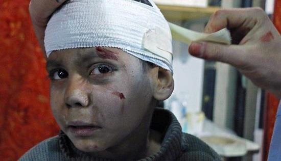 停战决议被无视 叙利亚东古塔两周内逾千人遇难