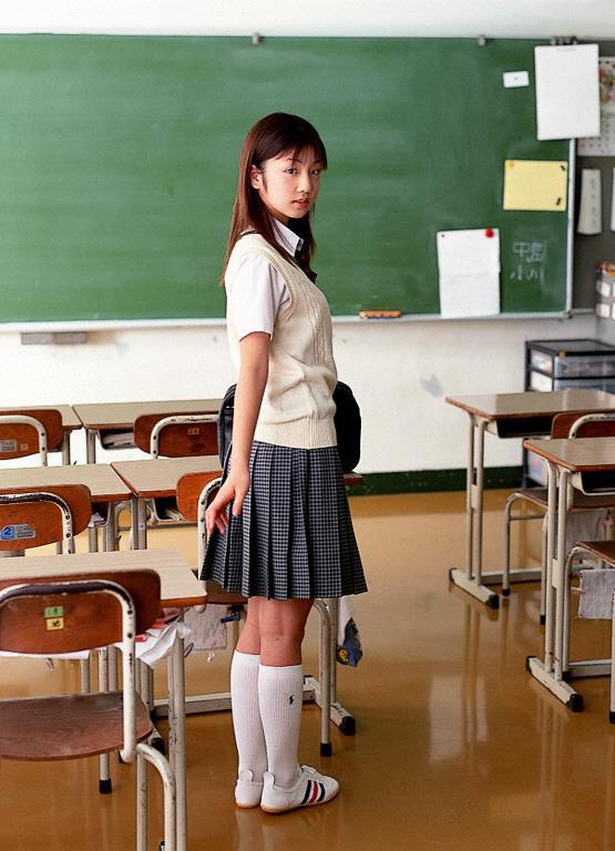 [YS Web]Vol.015 小倉優子(小仓优子,Yuko Ogura)高中女生制服与性感比基尼泳装私