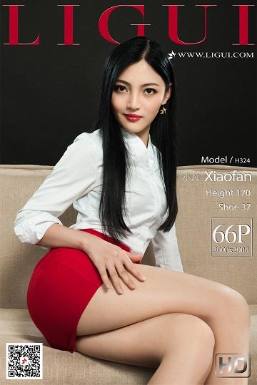 [Ligui丽柜会所]2021-02-08 性感女秘书 小凡 红色短裙加肉丝美腿私房写真集